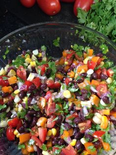 Citrus Black Bean Salad on MyRecipeMagic.com