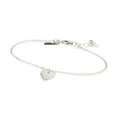 Sølvarmbånd med hjerte Marna by Thune Bracelets, Silver, Jewelry, Jewlery, Jewerly, Schmuck, Jewels, Jewelery, Bracelet