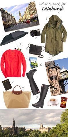 What to Pack for Edinburgh