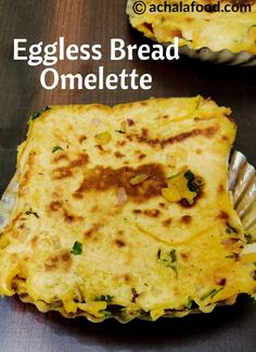 Eggless Bread Omelette is a recipe of tiffin snack in hindi & english with step to step directions with photos & recipe video,tips & variation Breakfast Snacks, Healthy Breakfast Recipes, Healthy Recipes, Breakfast Crepes, Eggless Recipes, Vegetarian Recipes, Healthy Food, Veg Starter Recipes, Lunch Box Recipes
