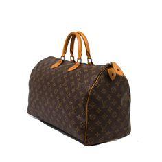 Speedy 40 - Louis Vuitton Bazaar