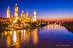 Night in Ebro river by Miguel Moreno Dobato on 500px