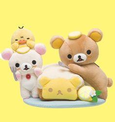 Rilakkuma Store Plus - Lemon Cake Series #rilakkuma #korilakkuma #kiiroitori