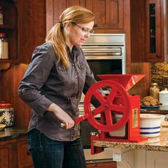 The best kitchen gadgets for the country kitchen include a food dehydrator, a meat grinder, a grain mill, a stand mixer and a pressure canner. - GRIT Magazine