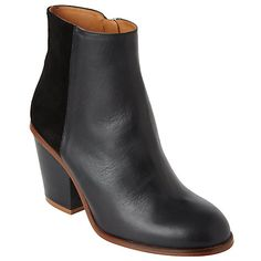 £110 - Kin by John Lewis Polina Block Heeled Ankle Boot Online at johnlewis.com