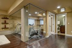 Basement Home Gym Ideas - Basement Finishing and Basemen Remodeling ideas
