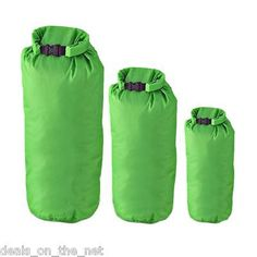 3 x dry sacks by summit 2, 4, 8 litre bags #camping #canoeing #hiking green or bl, View more on the LINK: http://www.zeppy.io/product/gb/2/151331072471/