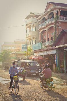 Street scene - Siem Reap, Cambodia