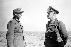 Major General Karl Böttcher, general Rommel (right) in North Africa. Böttcher served in the Deutsches Afrikakorps under Erwin Rommel. Rommel innovated by creating an independent command for his artillery, allowing them to be used in a concentrated manner. He placed Böttcher in command. As such it became a very effective means for adding punch to the Afrika Korps' attack. Later, he was made commander of the 21st Panzer Division
