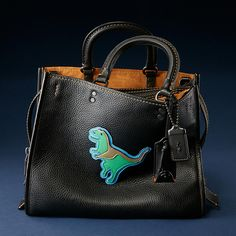 Dino Rogue Bag in Glovetanned Pebble Leather