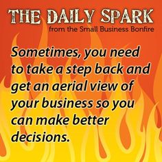 The Daily Spark - Small Business Bonfire