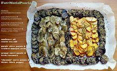 "Sweet Potato Trio: Purple & mustard seeds, orange & rosemary, ""chestnut"" & thyme #vegetarian #vegan #dairyfree #glutenfree"