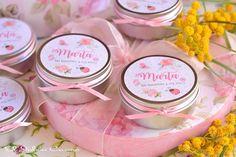 Detalles personalizados para bautizos velas perfumadas.  Consultas y encargos: eljaboncasero@gmail.com