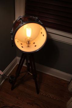 Buy Snare Drum Light Recreation by industrialighting. Explore more products on http://industrialighting.etsy.com