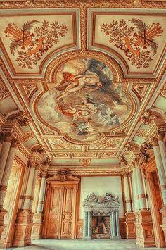 From FB page Musetouch Visual Arts Magazine:  Abandoned...Palace in Poland, photo by Pati Makowska via Fivehundredpx.