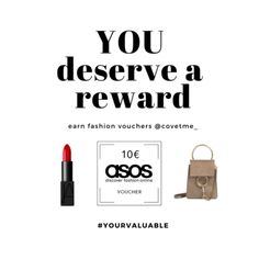 Time someone appreciates your sense of style and support for brands. Get rewarded with shopping vouchers and gifts everytime you post products you love at covet. Shopping Vouchers, Reward Yourself, Appreciate You, You Deserve, Saving Money, Asos, Gifts, Products, Style