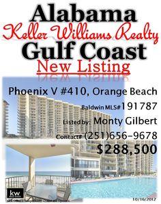 New Condo Listing in Orange Beach, AL by Monty Gilbert