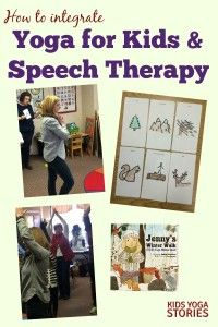 How to integrate Yoga for Kids and Speech Therapy | Kids Yoga Stories