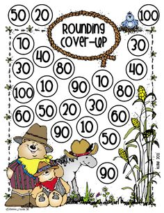 Here's a game for practicing rounding to the nearest 10. Post also includes a rounding chant and chart.