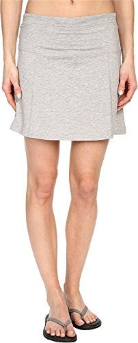 ToadCo Womens Sereena Samba Skort Heather Grey Skirt MD US 810 X 4 ** You can get more details by clicking on the image-affiliate link.