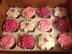 Buttercream Flowers by My Sweet Obsession by Lori