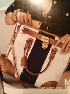 Beautiful handbag by Michael Kors.