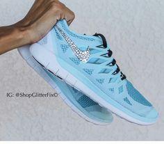 hot sale online b0167 747a0 Glitter Nikes. Tiffany blue. Need. Glitter NikesCute Gym ...