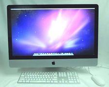 Apple iMac 27-Inch screen, late 2009