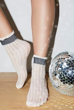 Astral Shimmer Anklet from Free People! All The Small Things, Beaded Anklets, My Socks, Ankle Socks, Fashion 2017, Bohemian Style, Bootie Boots, Autumn Fashion, Fashion Accessories