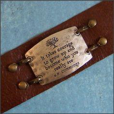 Lenny & Eva leather cuff