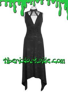 Tiberio Dark Side. - Vestido Gotico Textura