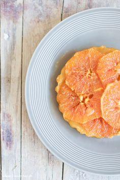 Tarte Orange mit feinem Karamell von den [Foodistas] - http://foodistas.de/
