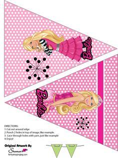 Barbie imprimibles