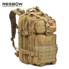 19edac783eae9 34L Men Outdoor Sports Camping Backpack Military 3P Assault MOLLE Bug Out  Small Rucksack Hunting Army
