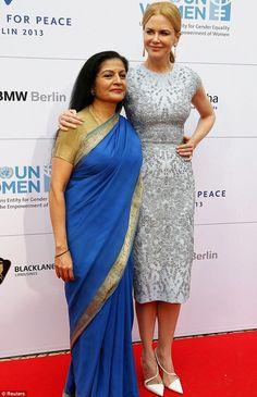 Nicole Kidman honoured for her charity work in Germany