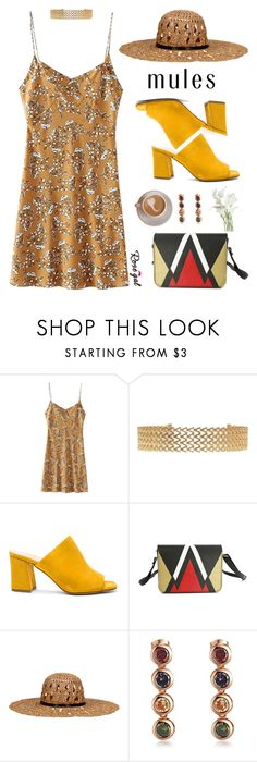 """""""68. Rosegal printed dress"""" by wannanna ❤ liked on Polyvore featuring Maryam Nassir Zadeh and KOCCA"""