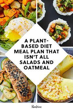 Plant Based Diet Meals, Plant Based Meal Planning, Plant Based Eating, Plant Based Snacks, Healthy Weekly Meal Plan, Vegan Meal Plans, Diet Meal Plans, Healthy Meal Planning, Healthy Eating Meal Plan
