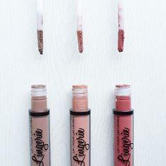 #NYXLingerie are my faves! NYX Lingerie Liquid Lipstick #flatlay #flatlayapp