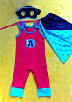 PANDIELLEANDO: Regalos para bebés: Disfraz de Super Héroe