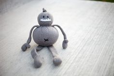 Monster Stuffed Animal Toy by AllStuftUp on Etsy
