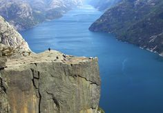 Prekestolen is one of the most popular attractions in the Stavanger fjord. The most striking feature is a flat topped crag some 1,960 ft above the sea level. From Stavanger it can be reached by road or ferry which also involves a two-hour trek. #Norway #tour #packages #Package #Stavanger