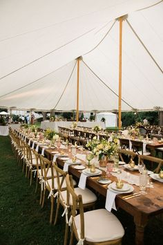 tented wedding reception #bohotent