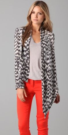 Sass and Bide Asymmetrical Jacket - GET THIS LOOK NOW ONLY AT www.shopbop.com/?extid=affprg-7101999