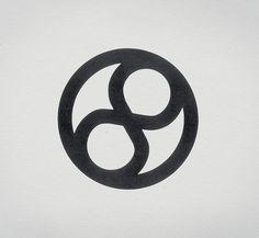 Unifinity Foundation logo #retro #logo #design