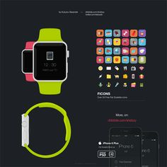 Apple Watch Front and Side View Mockup - http://www.welovesolo.com/apple-watch-front-and-side-view-mockup/