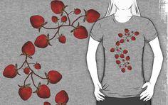 simpsonvisuals › Portfolio › Strawberry Vine T-Shirt