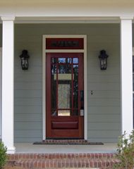 7d8b8a79ace Craftsman Exterior Wood Front Entry Door Collection Style DbyD-4001  Craftsman Style Front Doors