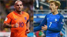 Holanda vs Francia, partidazo por las Eliminatorias Europeas. Oct 10, 2016.