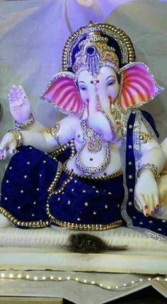 Make this Ganesha Chathurthi 2020 special with rituals and ceremonies. Lord Ganesha is a powerful god that removes Hurdles, grants Wealth, Knowledge & Wisdom. Jai Ganesh, Ganesh Lord, Ganesh Idol, Ganesh Statue, Shree Ganesh, Shri Ganesh Images, Shiva Parvati Images, Ganesha Pictures, Durga Images