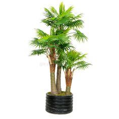 TCB-03 285CM Artificial Fan Palm Tree Mini Palm Tree, Small Palm Trees, Fan Palm, Herbs, Leaves, Exterior, Plants, Fun, Herb
